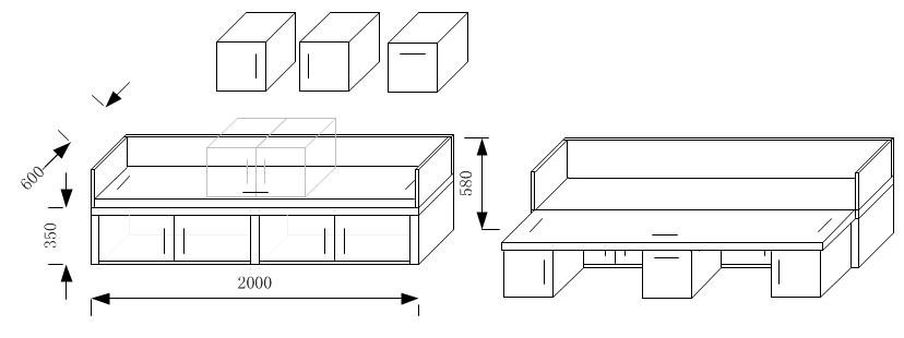 无限策划-家具设计-沙发床