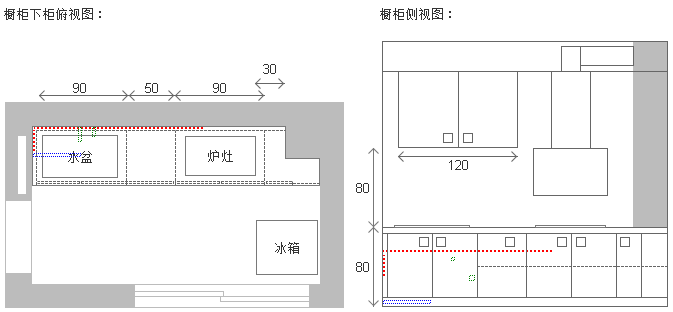 橱柜设计之所闻所想-橱柜设计图-无限策划-YYidea.com